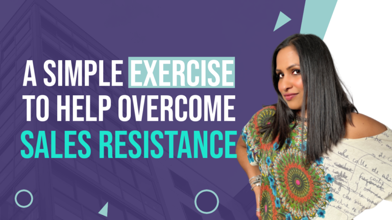 exercise to overcome sales resistance