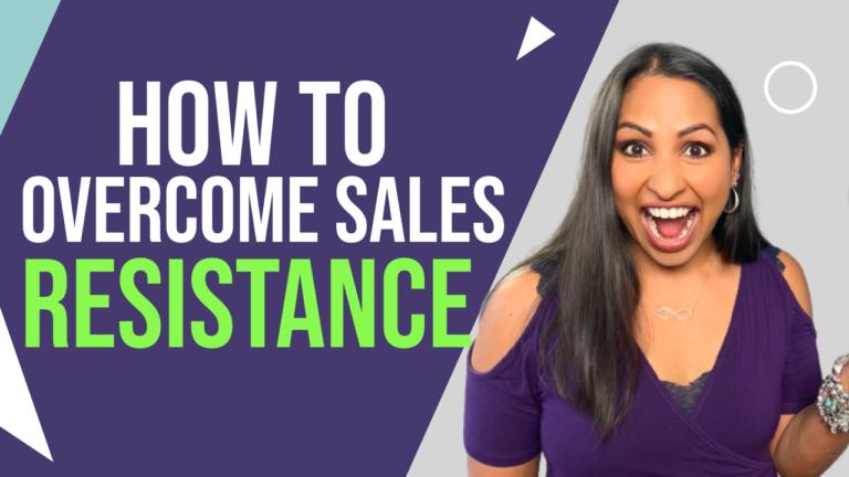 overcome sales resistance
